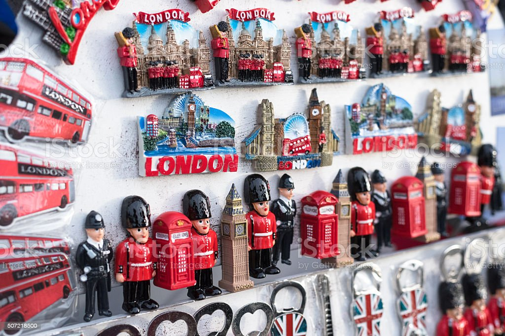 British Souvenirs stock photo