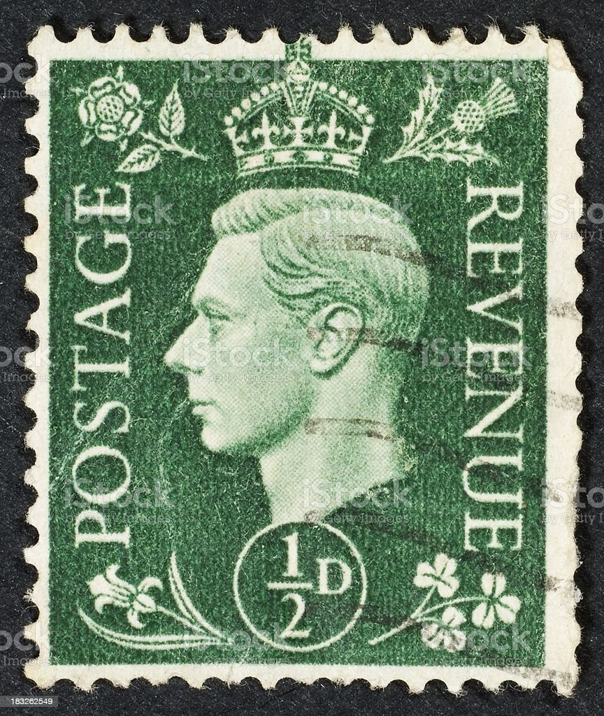 British stamp stock photo