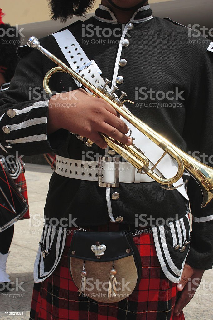 British style musician royalty-free stock photo