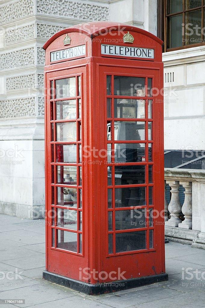 British Telephone Box stock photo
