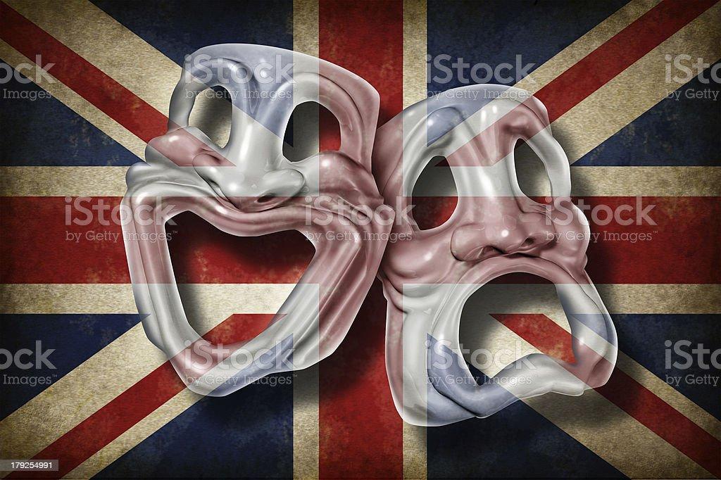 British Theatre royalty-free stock photo