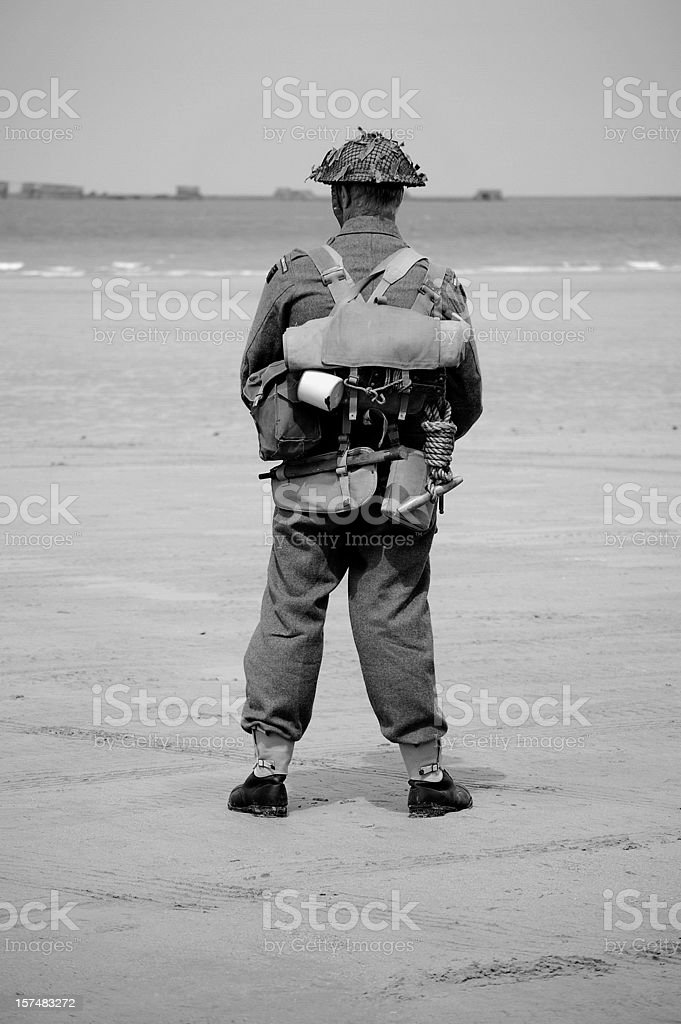 British Tommy WW2. royalty-free stock photo