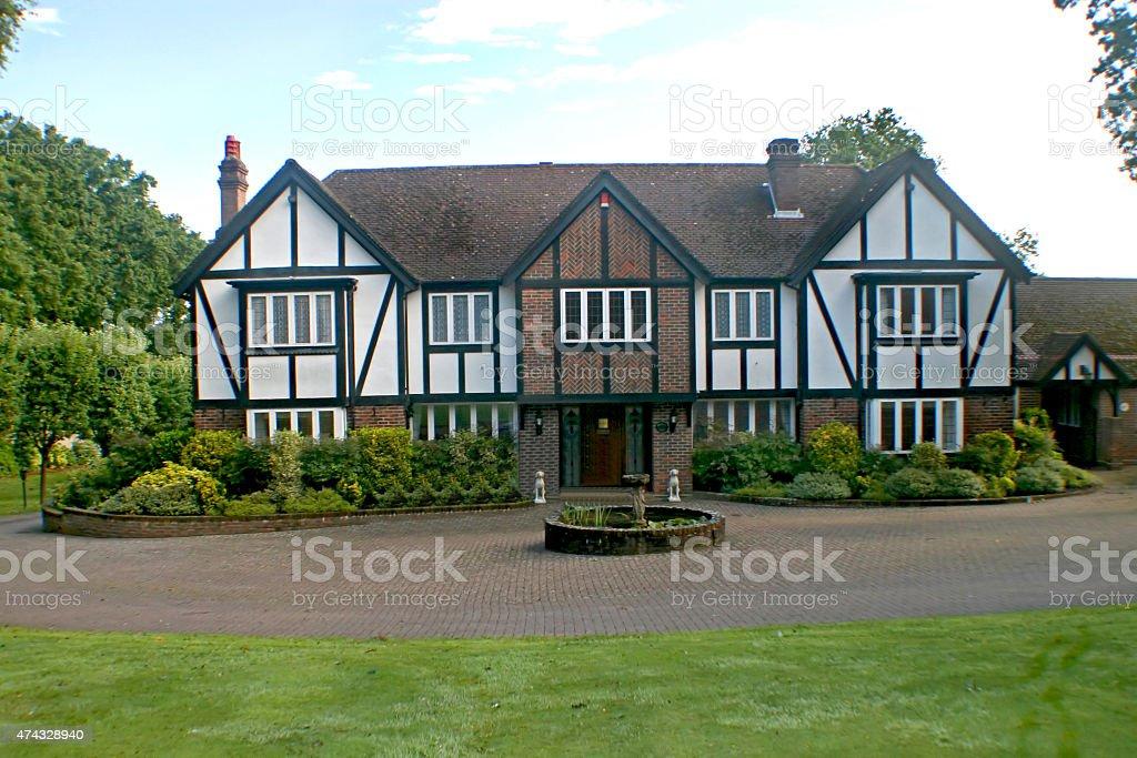 British Tudor Home stock photo