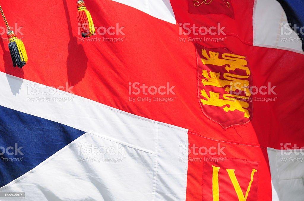 British Union flag. stock photo