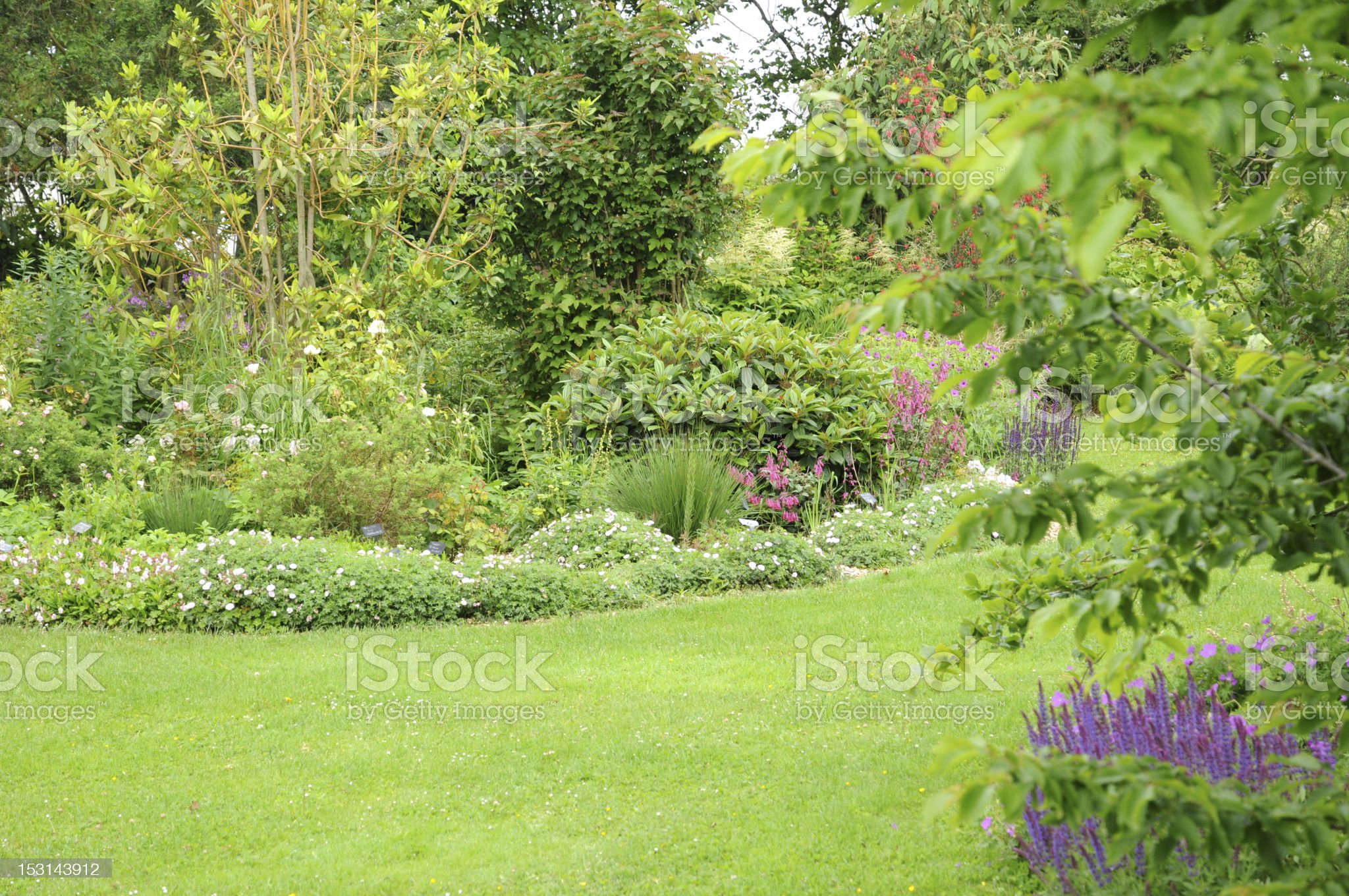 Brittany, le Jardin Lepage in Pleumeur Bodou royalty-free stock photo
