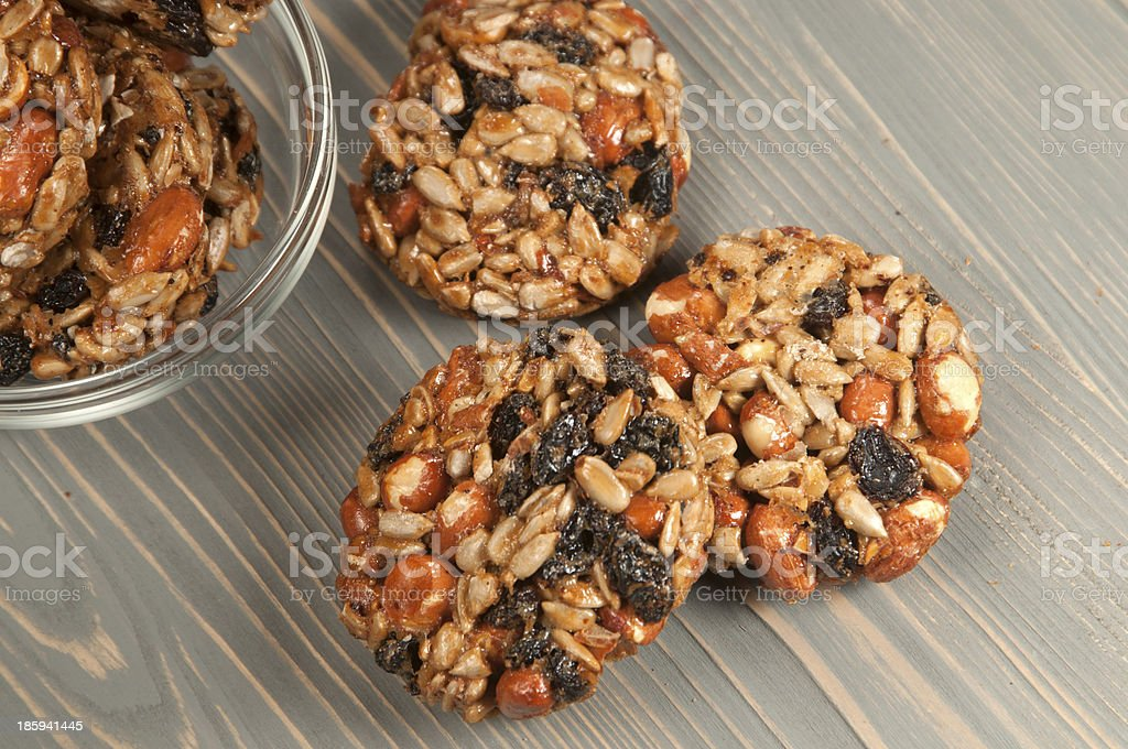 Brittle assorted royalty-free stock photo