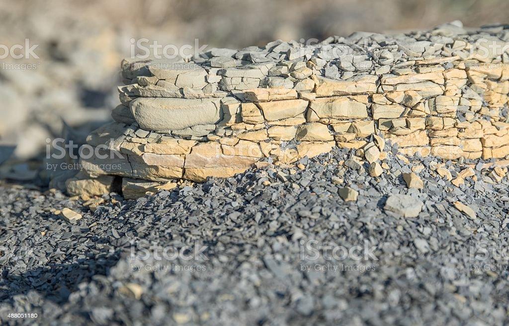 brittle stone stock photo