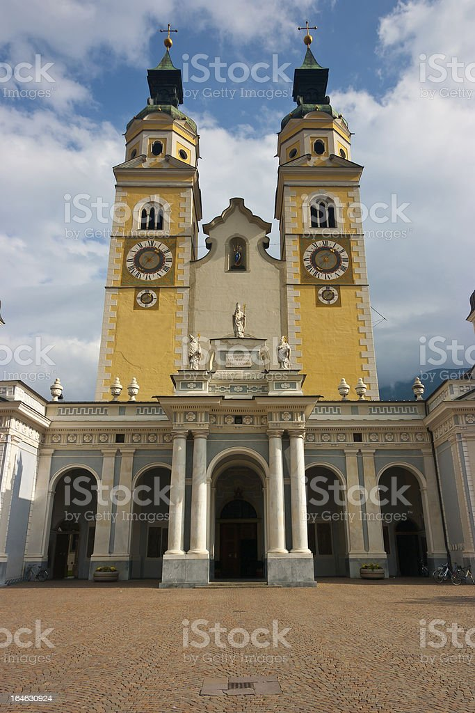 Brixen Cathedral royalty-free stock photo