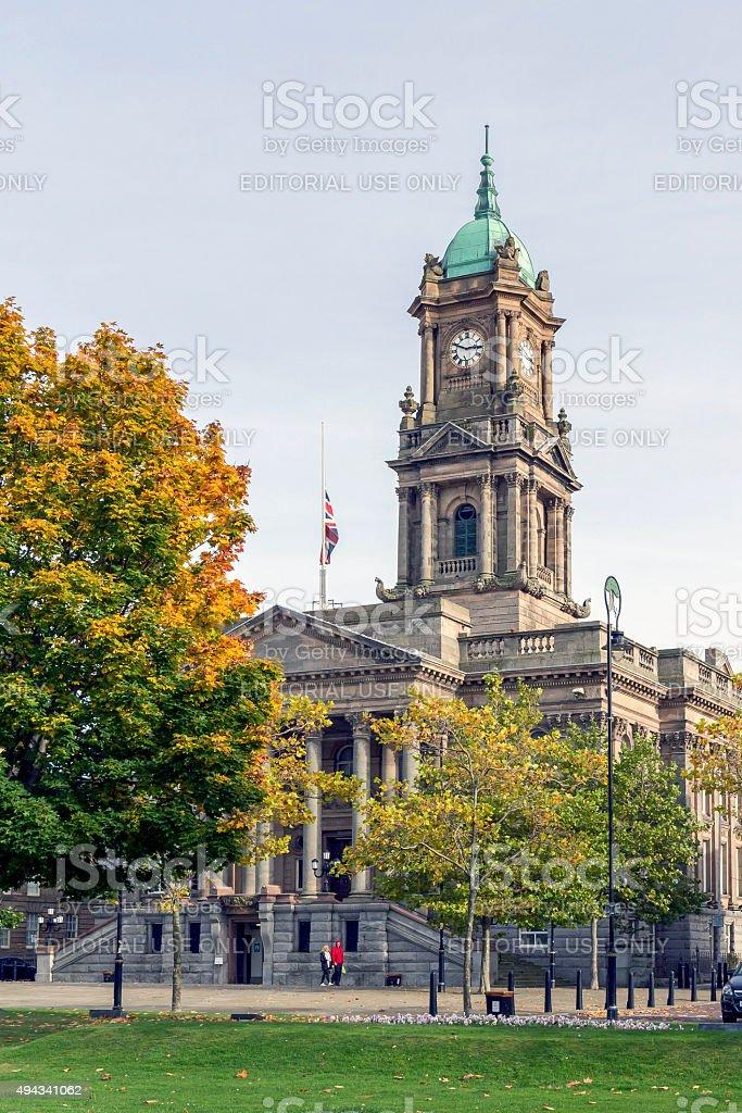 Brkenhead Town Hall stock photo