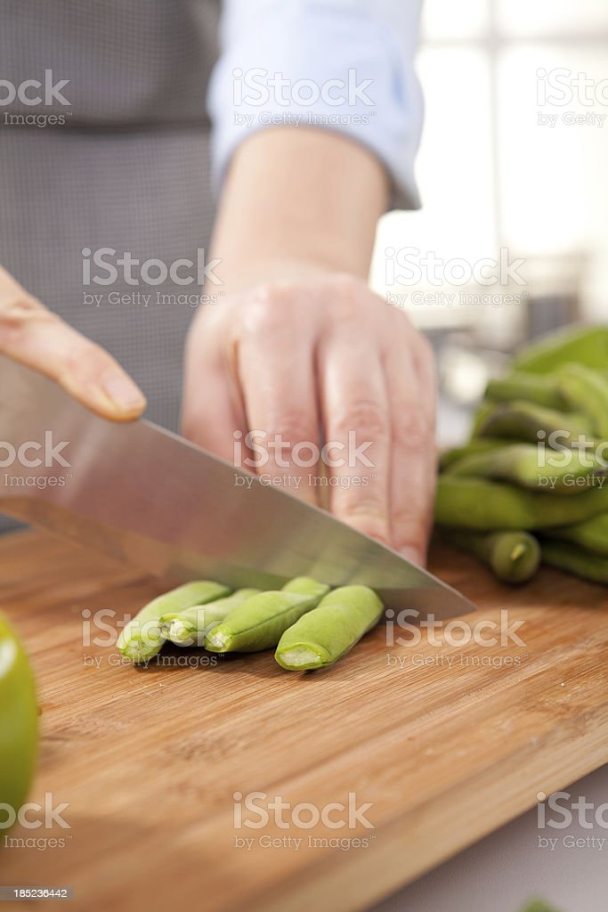 Broad Bean stock photo