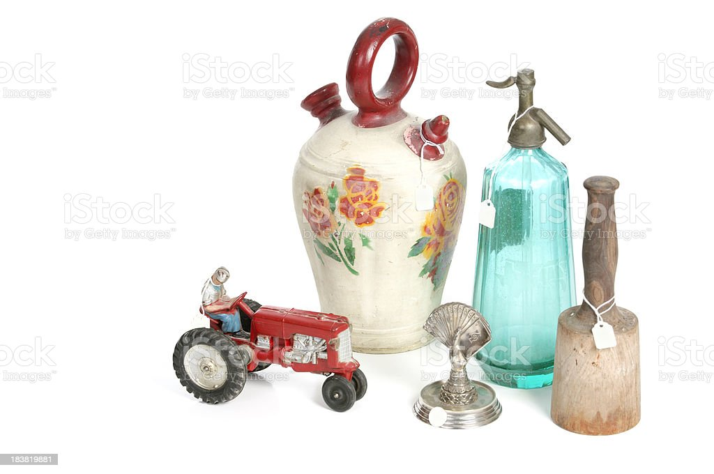 Broad Range Of American Artifacts stock photo
