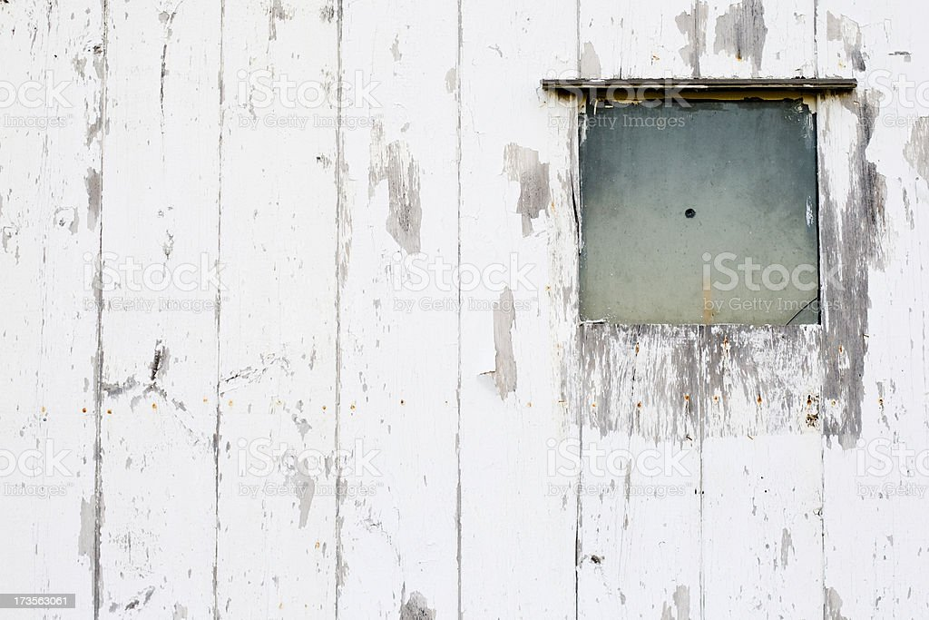 Broad Side of a barn royalty-free stock photo