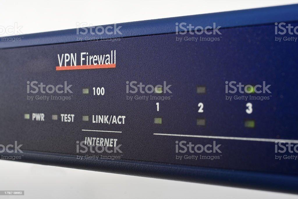 broadband internet firewall router royalty-free stock photo