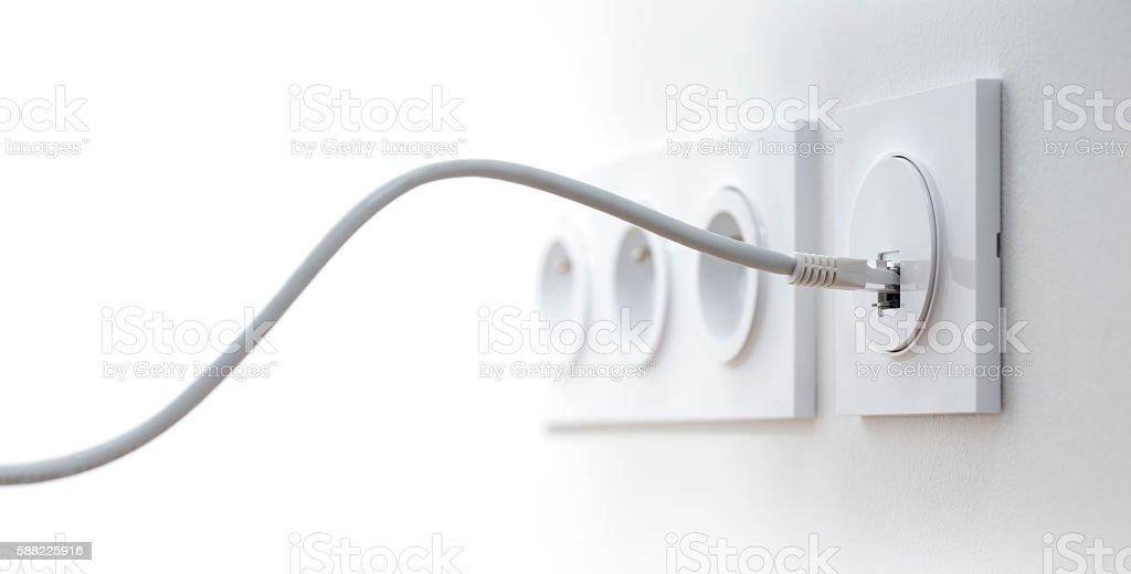 Broadband network stock photo