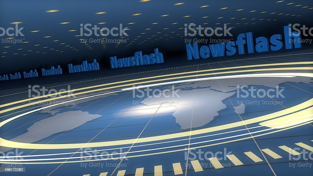 Broadcast Background stock photo