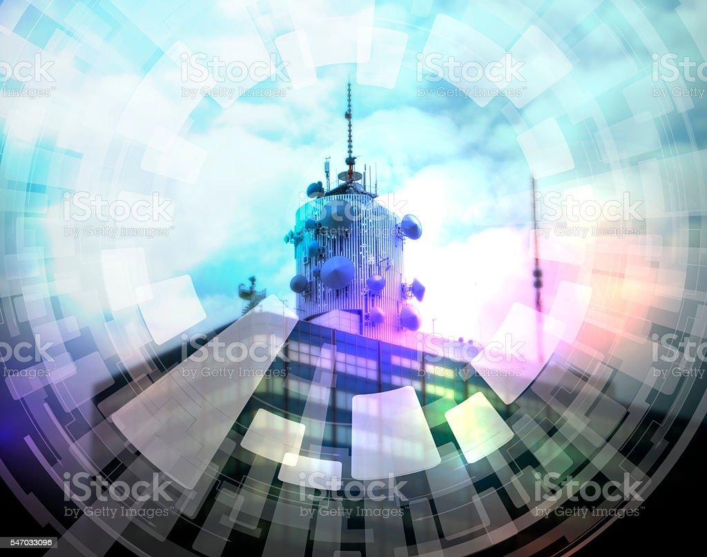 broadcasting abstract image visual stock photo