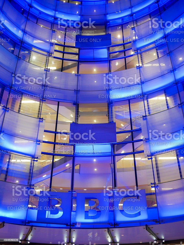 BBC Broadcasting House, London, UK stock photo