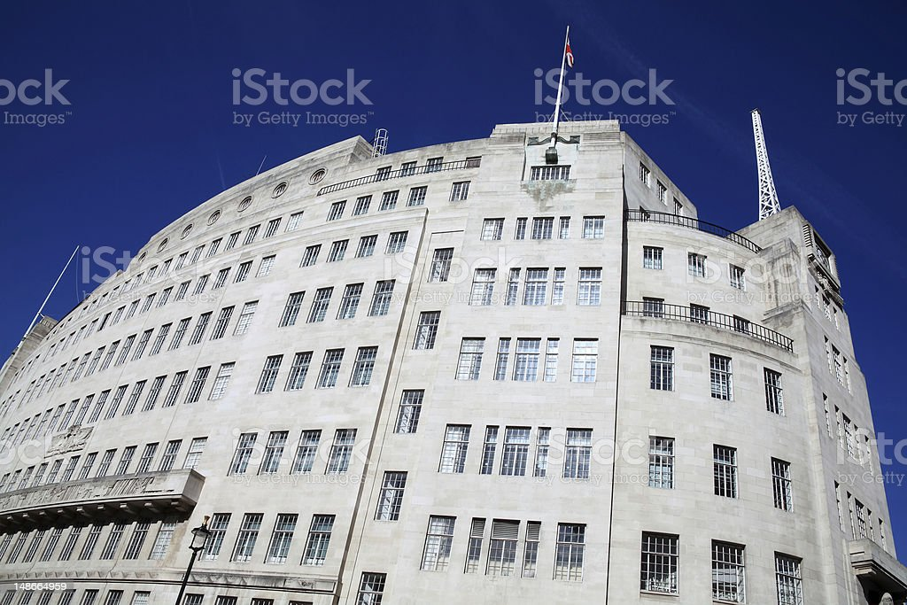BBC Broadcasting House stock photo