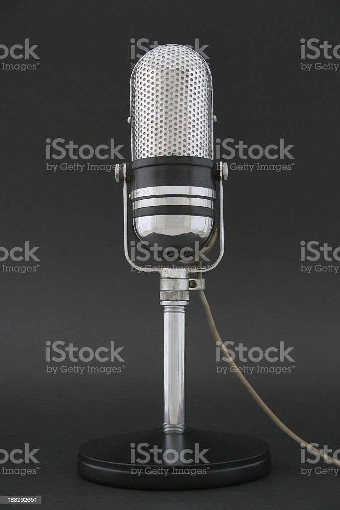 Broadcasting royalty-free stock photo