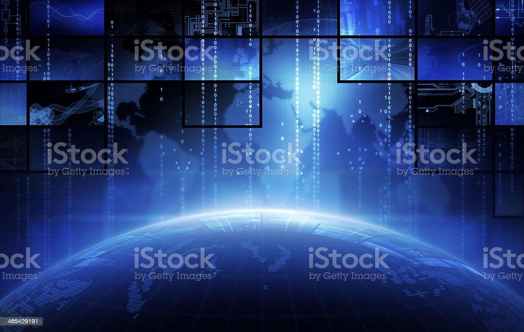 Broadcasting stock photo
