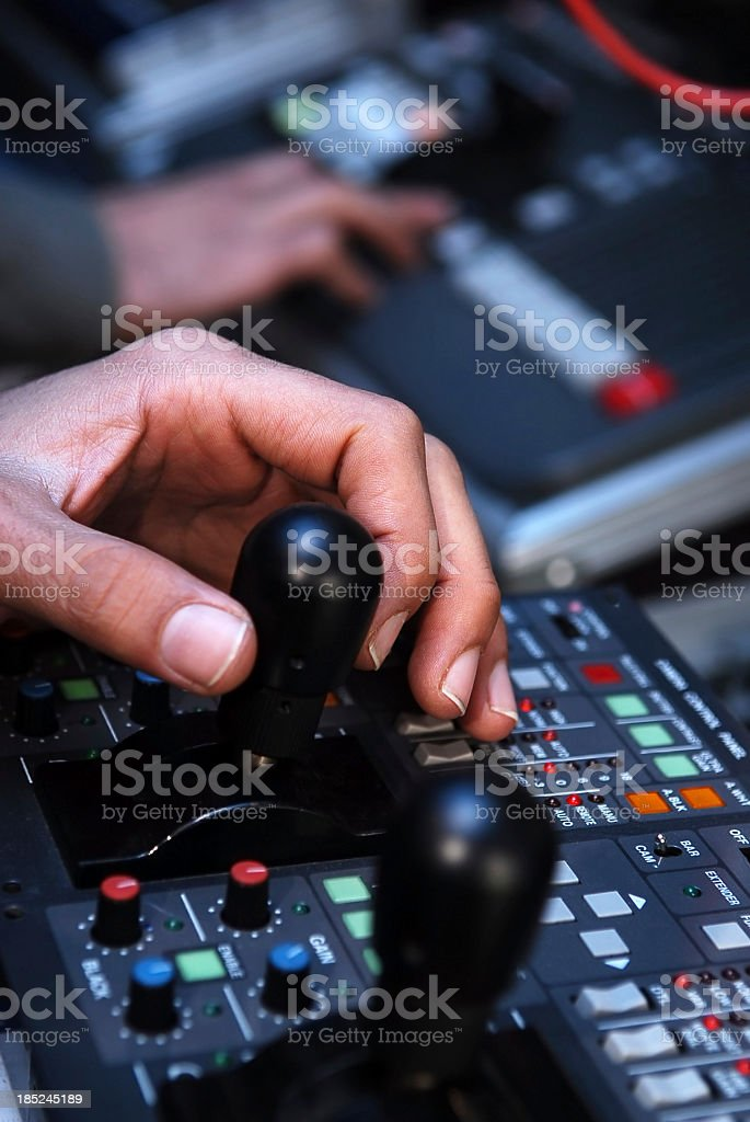 Broadcasting technology royalty-free stock photo