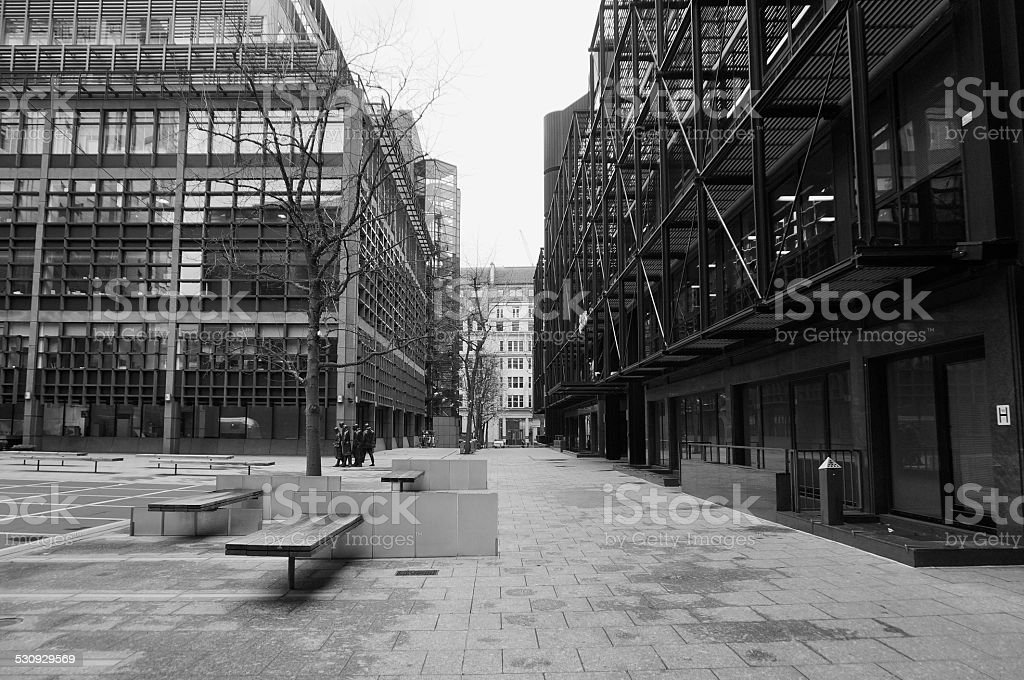 Broadgate, City of London stock photo