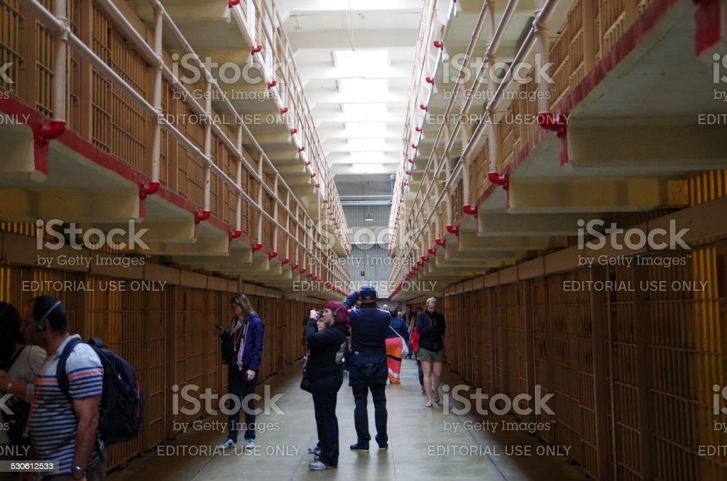 De Broadway bloque de Alcatraz foto de stock libre de derechos