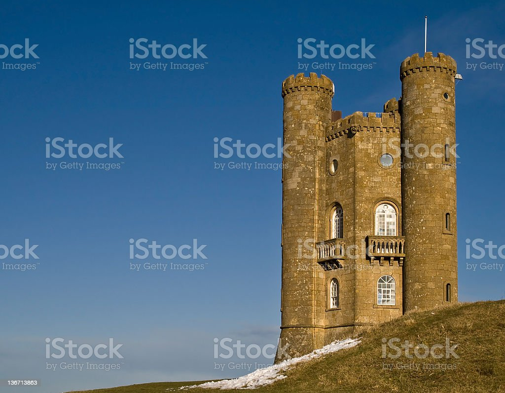 Broadway Fairytale Tower stock photo