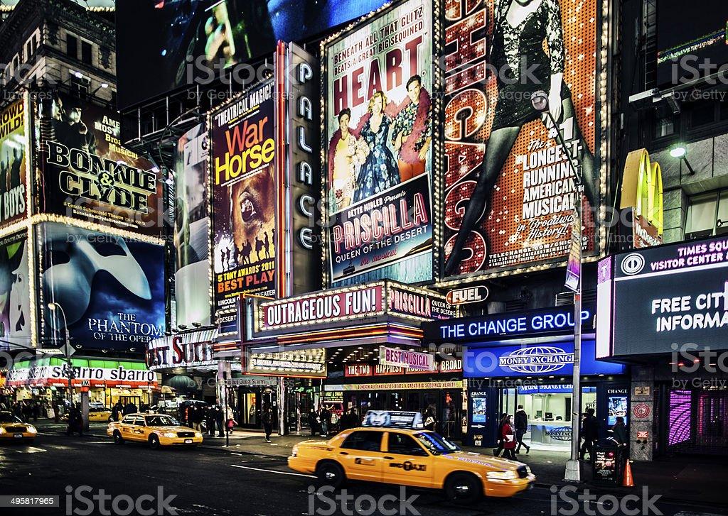 Broadway stock photo