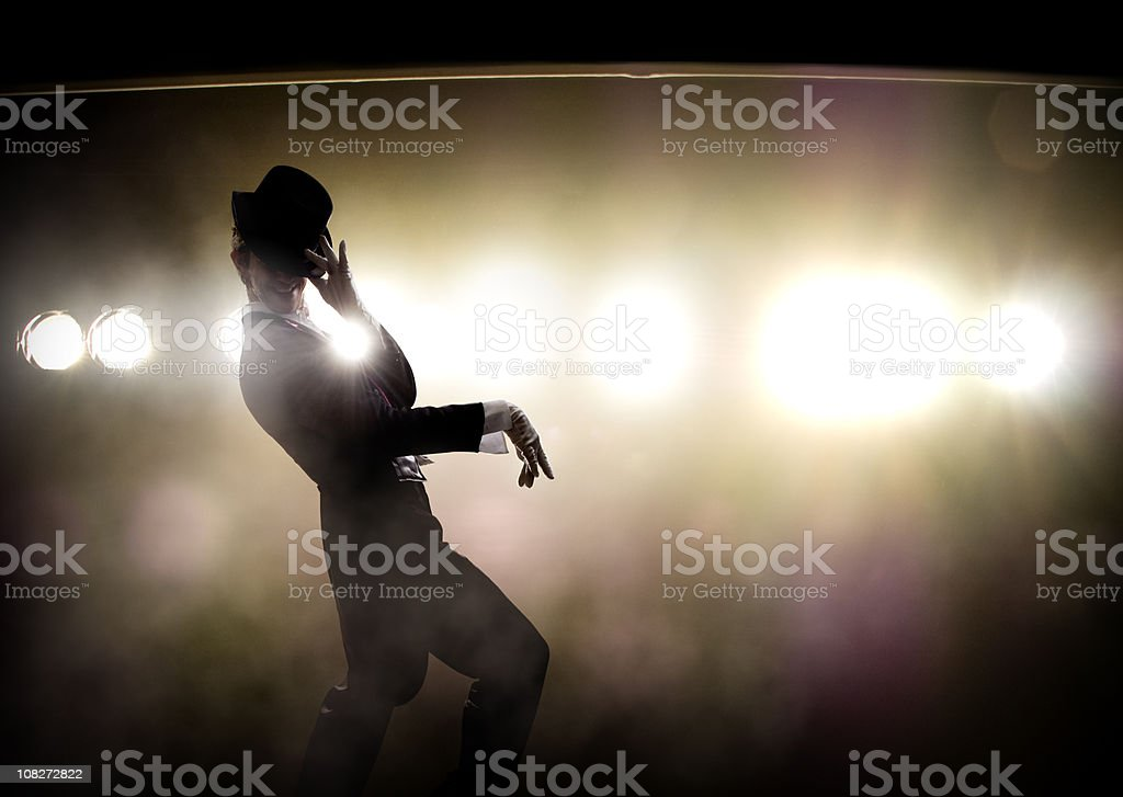 Broadway Star stock photo