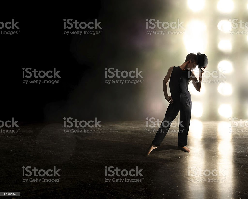Broadway Style Performer stock photo