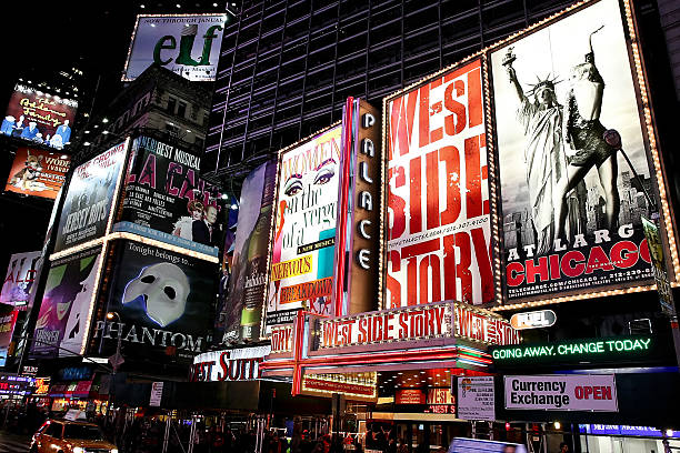 Image result for Broadway Theater District new york
