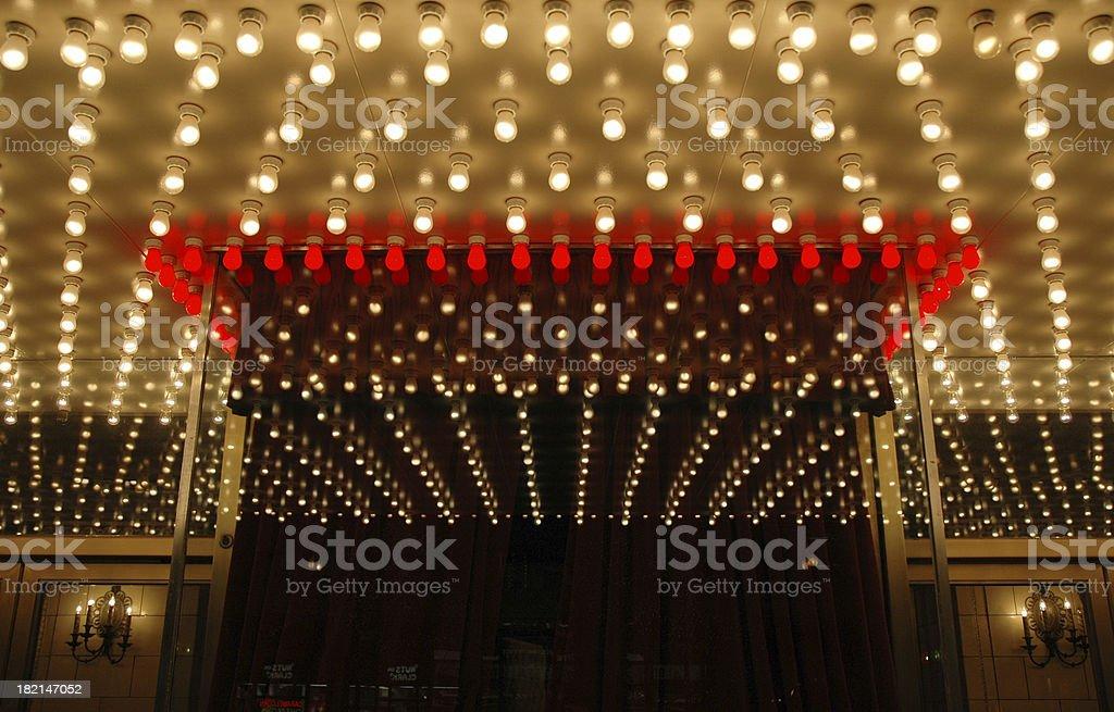 Broadway Theater Box Office stock photo