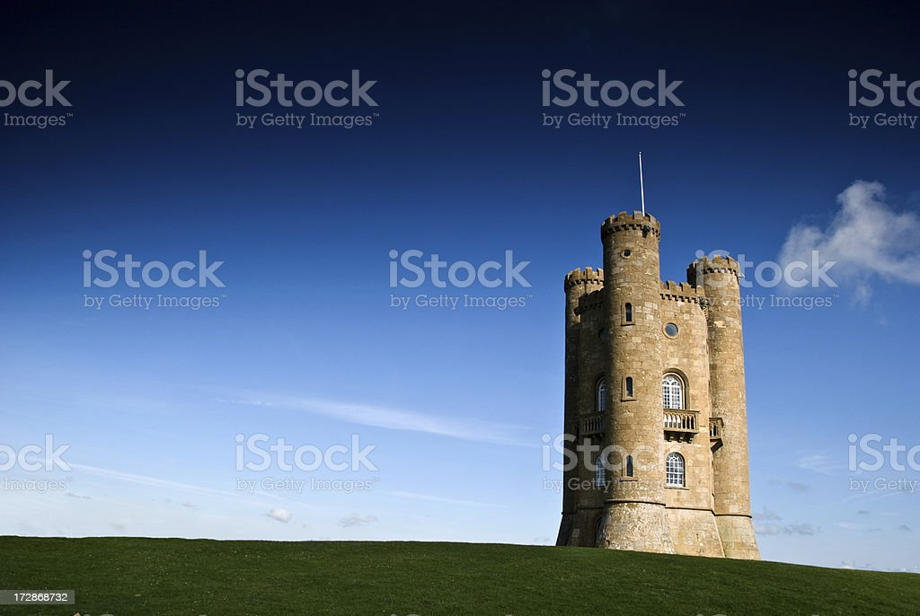 Broadway Tower Horizontal stock photo