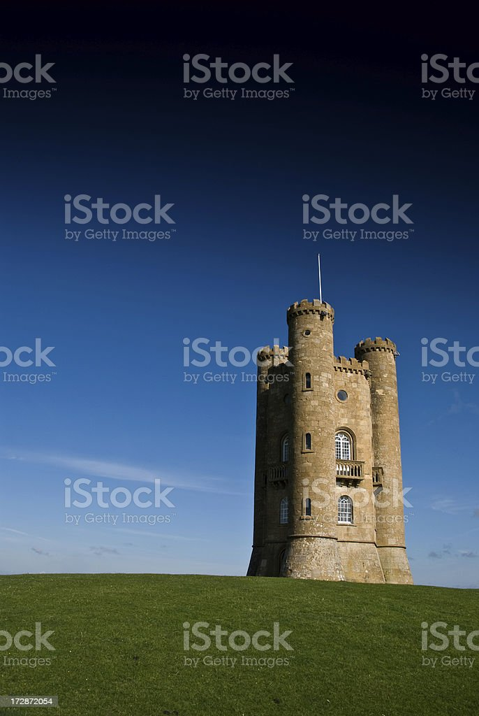 Broadway Tower Vertical stock photo