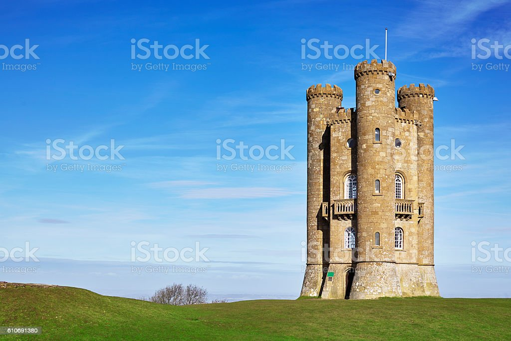 Broadway Tower,Cotswolds,England stock photo