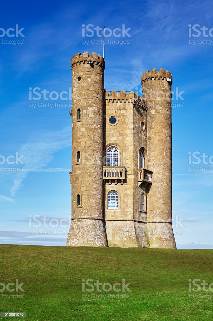 Broadway Tower,Cotwolds,England stock photo