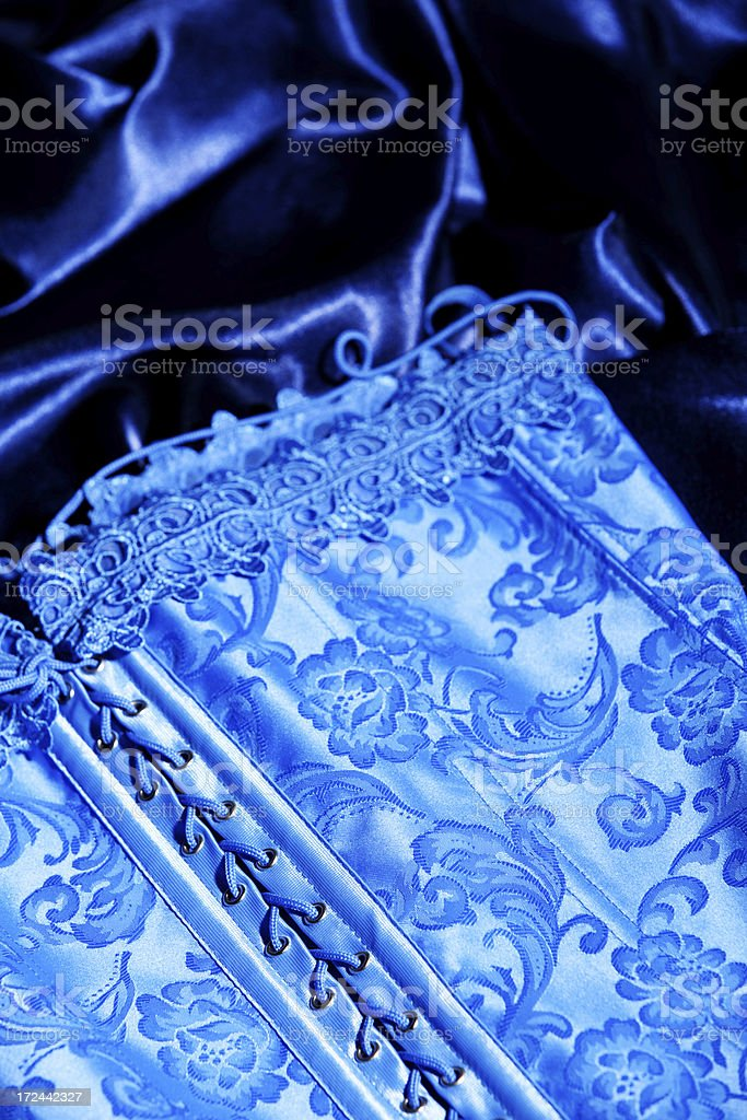 Brocade Corset royalty-free stock photo