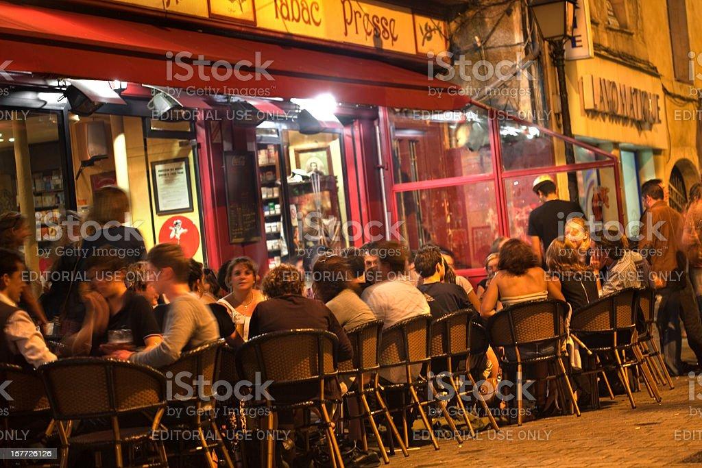 Broc'Café, Caen stock photo