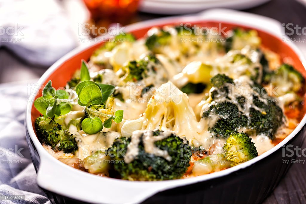 Broccoli Casserole royalty-free stock photo