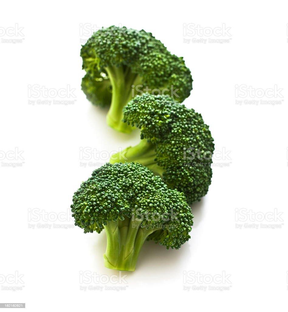 Broccoli Florets stock photo