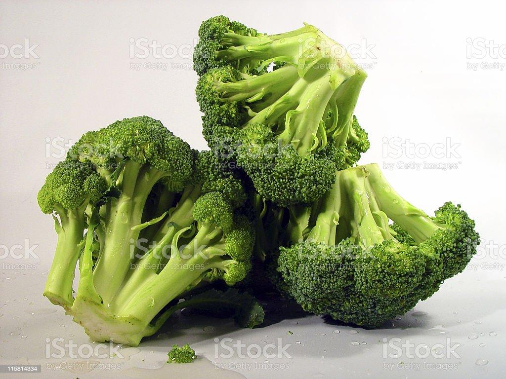 Broccoli, Isolated royalty-free stock photo