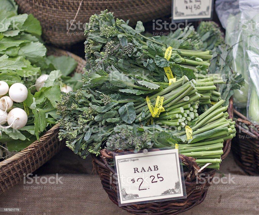 Broccoli Raab stock photo