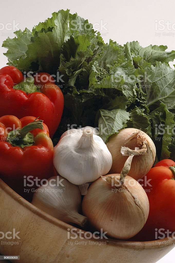 broccoli rabe and friends stock photo