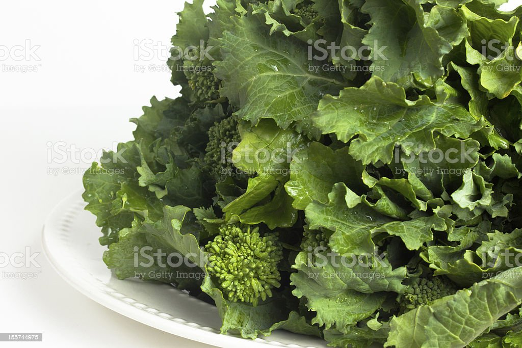 Broccoli Rabe Greens stock photo