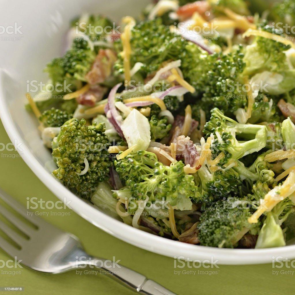 Broccoli Salad royalty-free stock photo