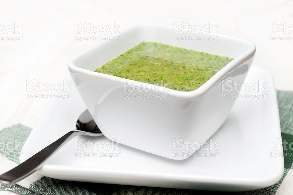 Broccoli Soup royalty-free stock photo