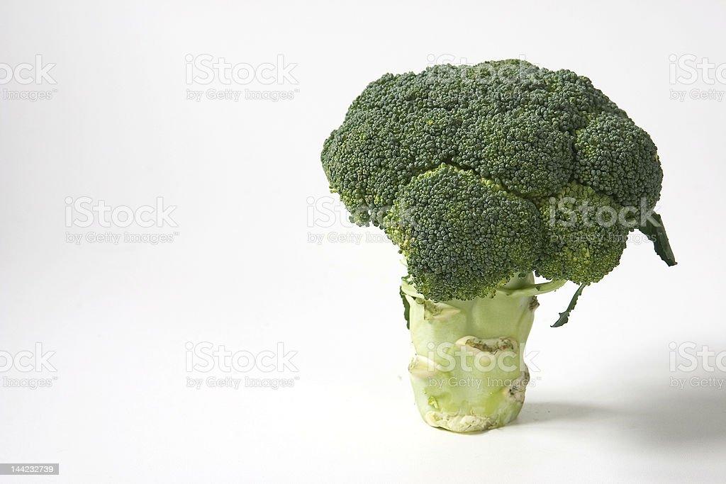 broccoli upright royalty-free stock photo
