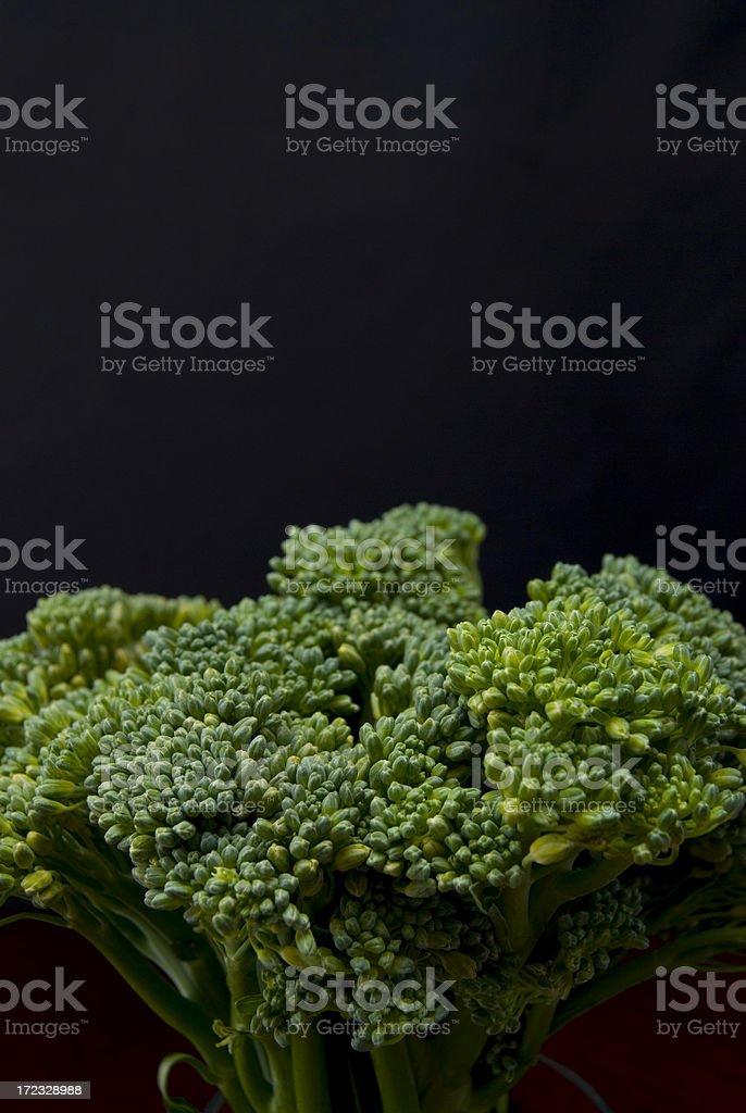 Broccollini stock photo