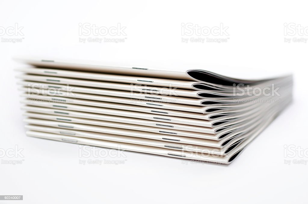 Brochures royalty-free stock photo